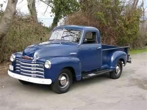 1950 chevy pu