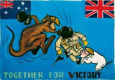 aus-british propaganda poster