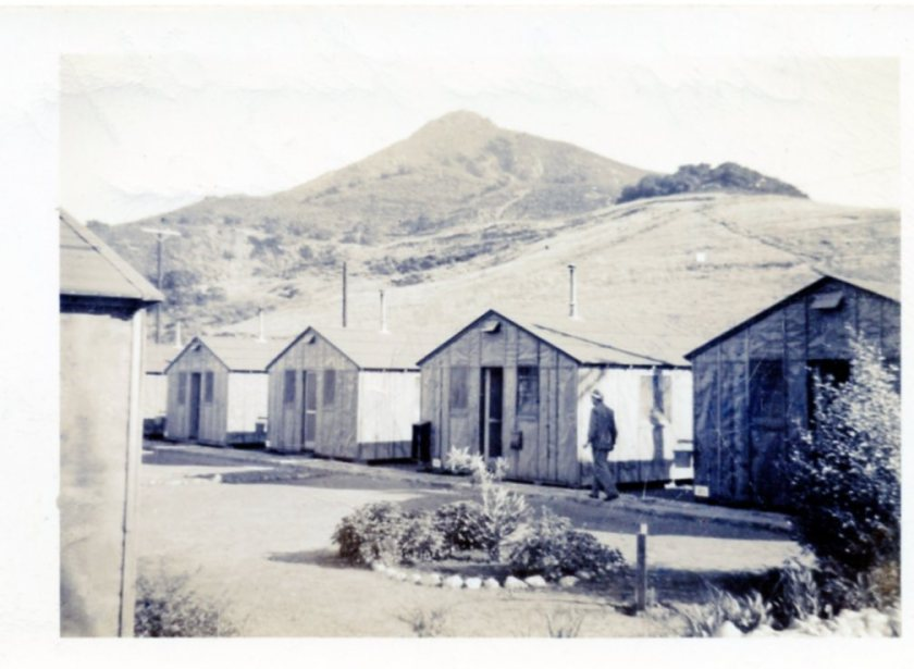 Barracks at San Luis Obispo, California