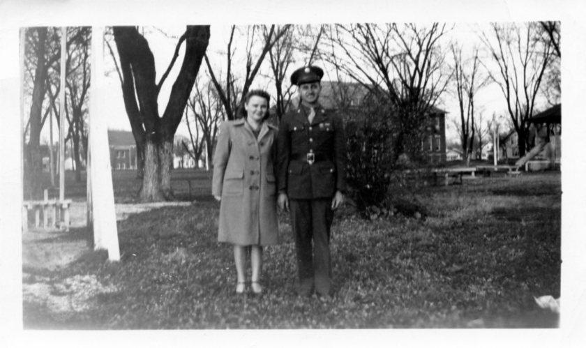 Clyde & Dorothy in Arthur, IL