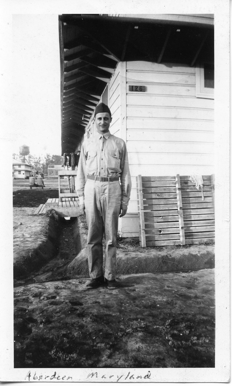 Clyde in Aberdeen Proving Grounds 1941