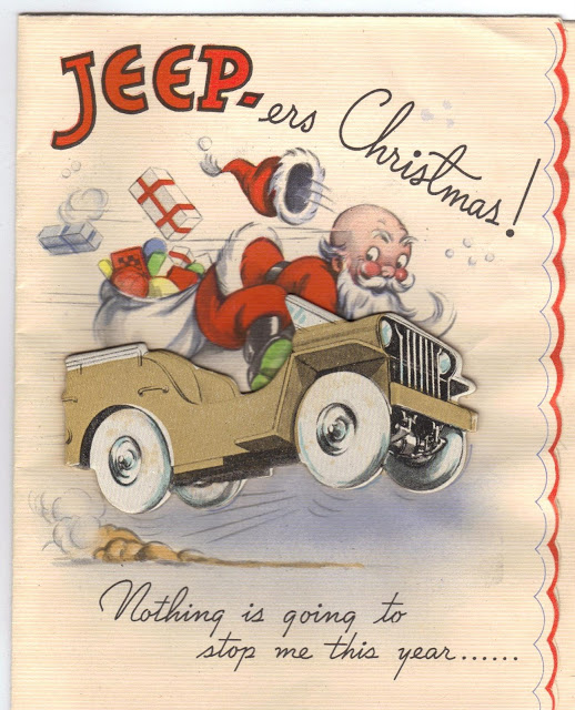 WWII christmas card
