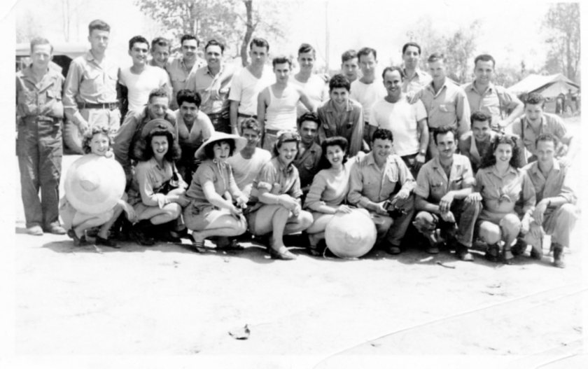 USO Photo taken 1943