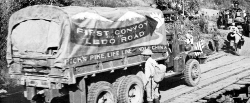 first convoy ledo road