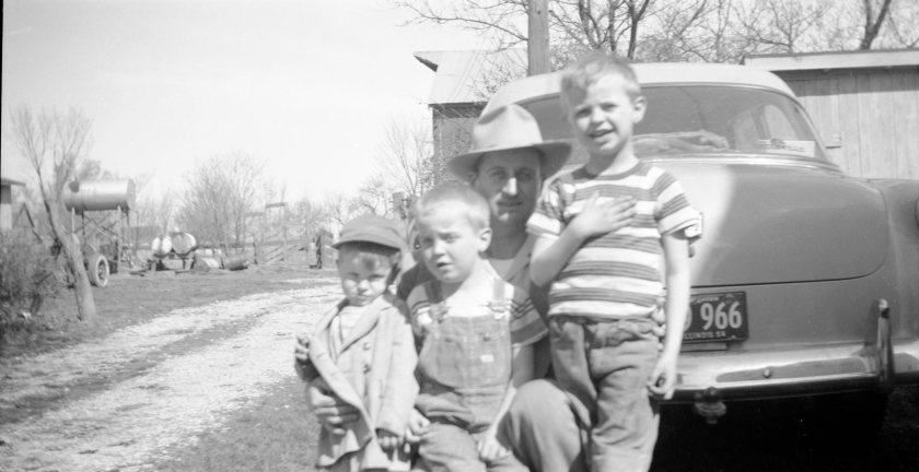 Clyde & his boys 1954 (2)
