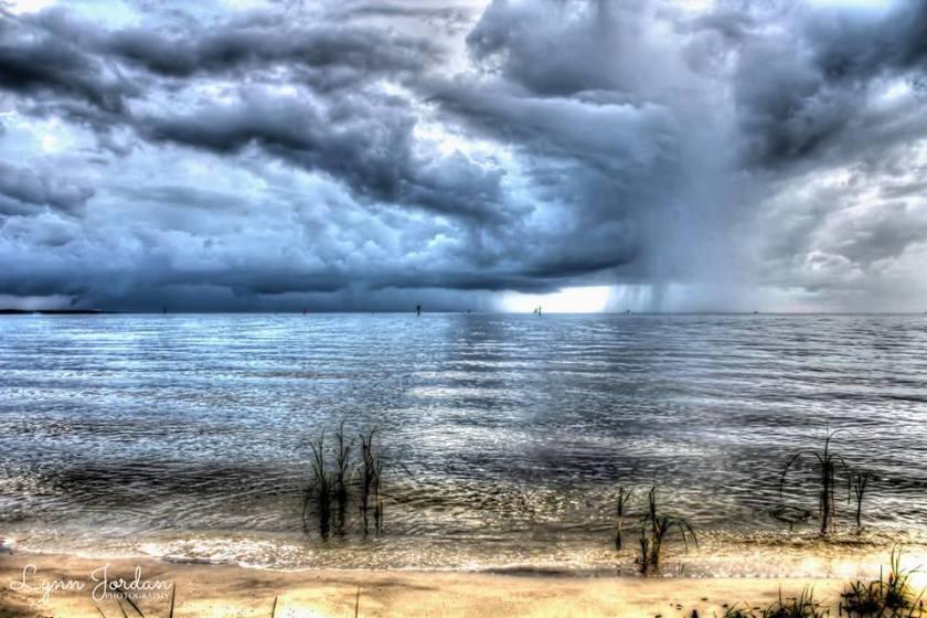 storm clouds bon secour