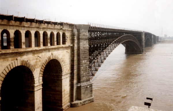 Eads bridge, St. Louis, MO