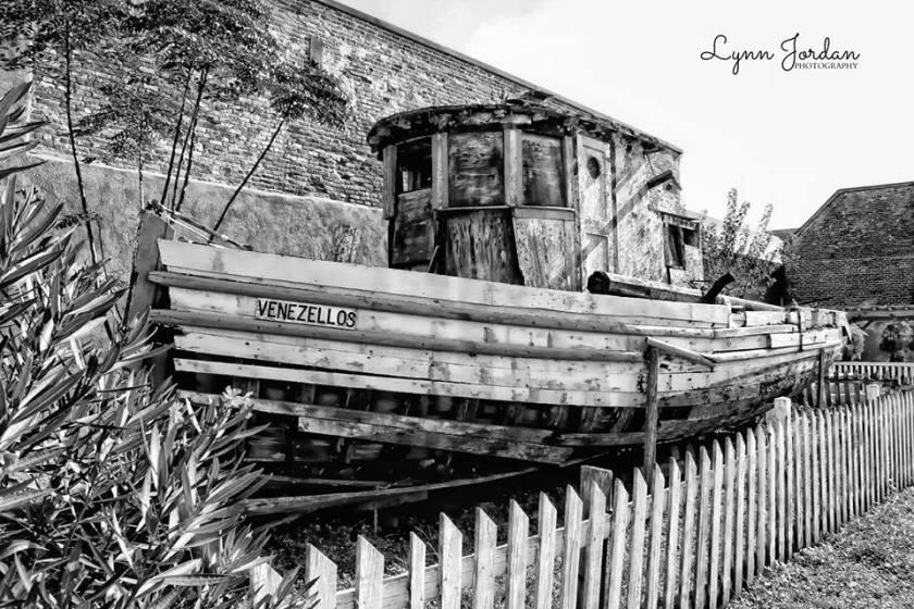Greek fishin boat