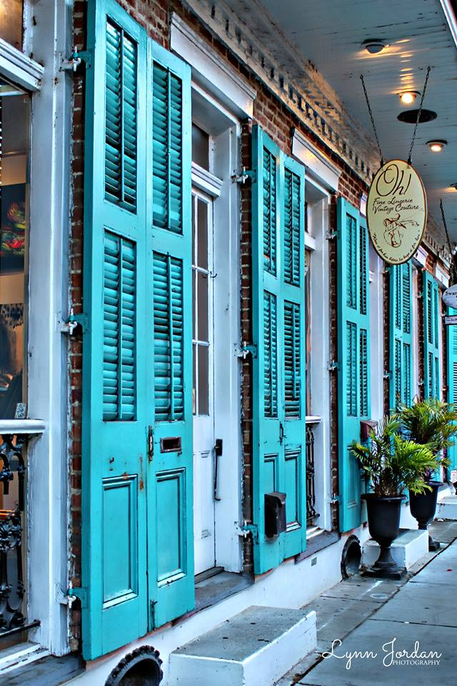 turquoise on royal