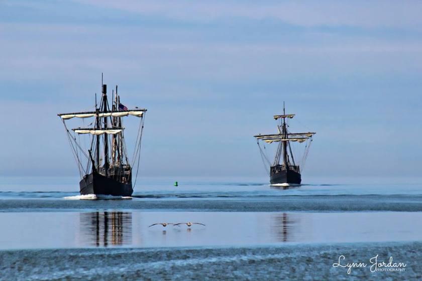 tall masted ships