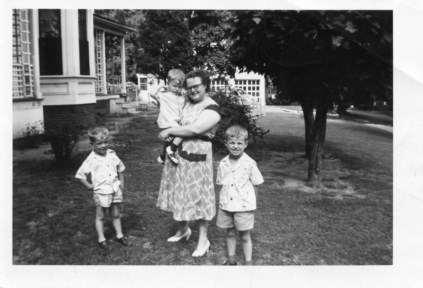 Bill, Jerry, Mom & George