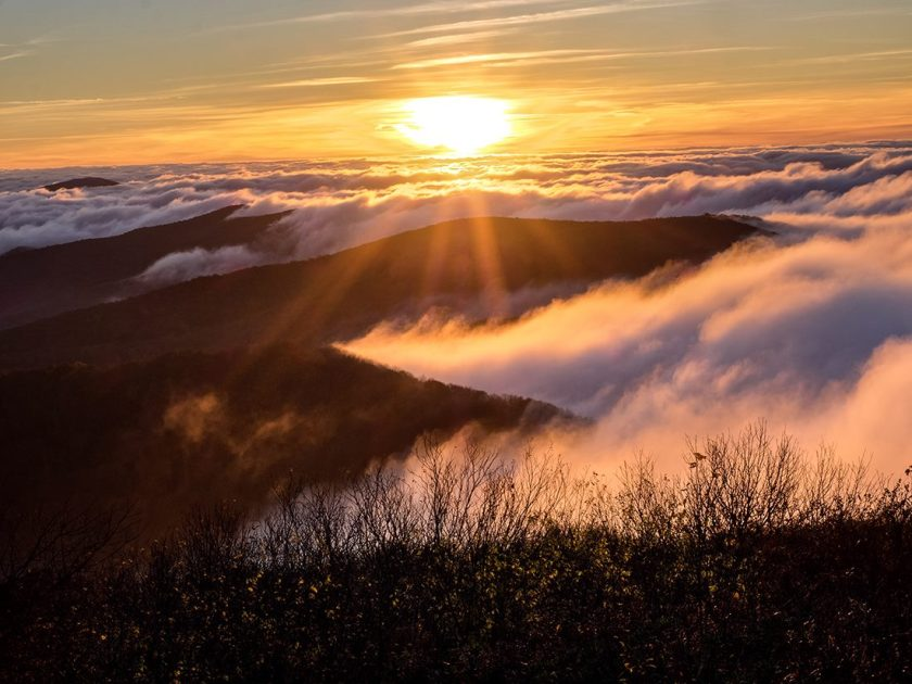 bob carr rocky top sunrise