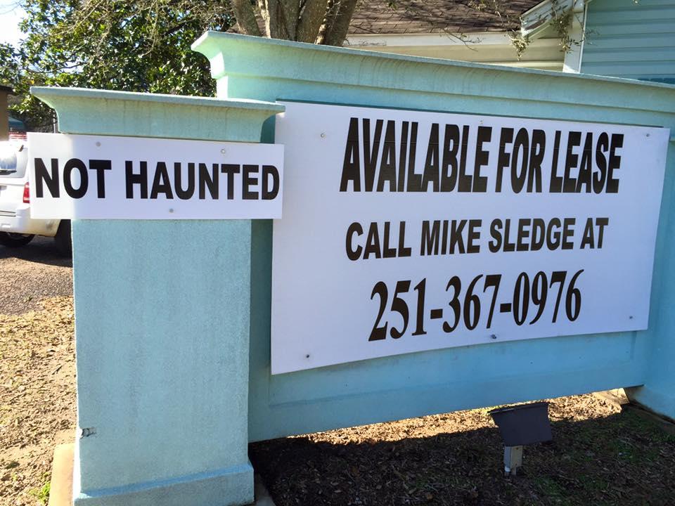 not haunted