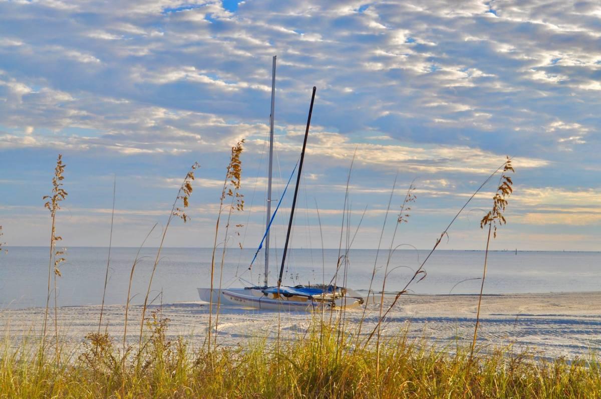 Sailboat & Sand