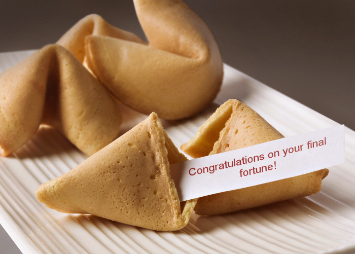 Fortune Cookie Guru's Fortunes Fizzle
